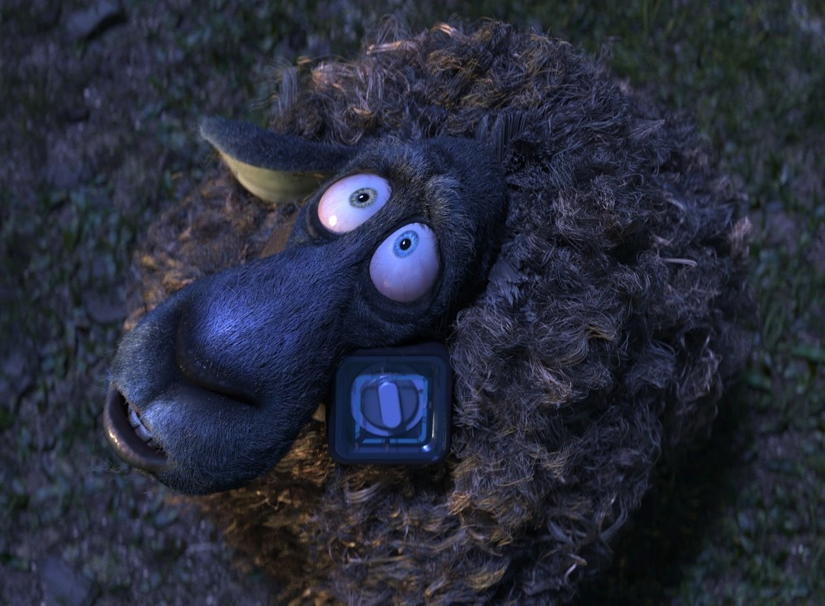 Franck is a tricky character to play as he's really two different characters in the pilot: a suicidal sheep and a confused but intrigued caterpillar.