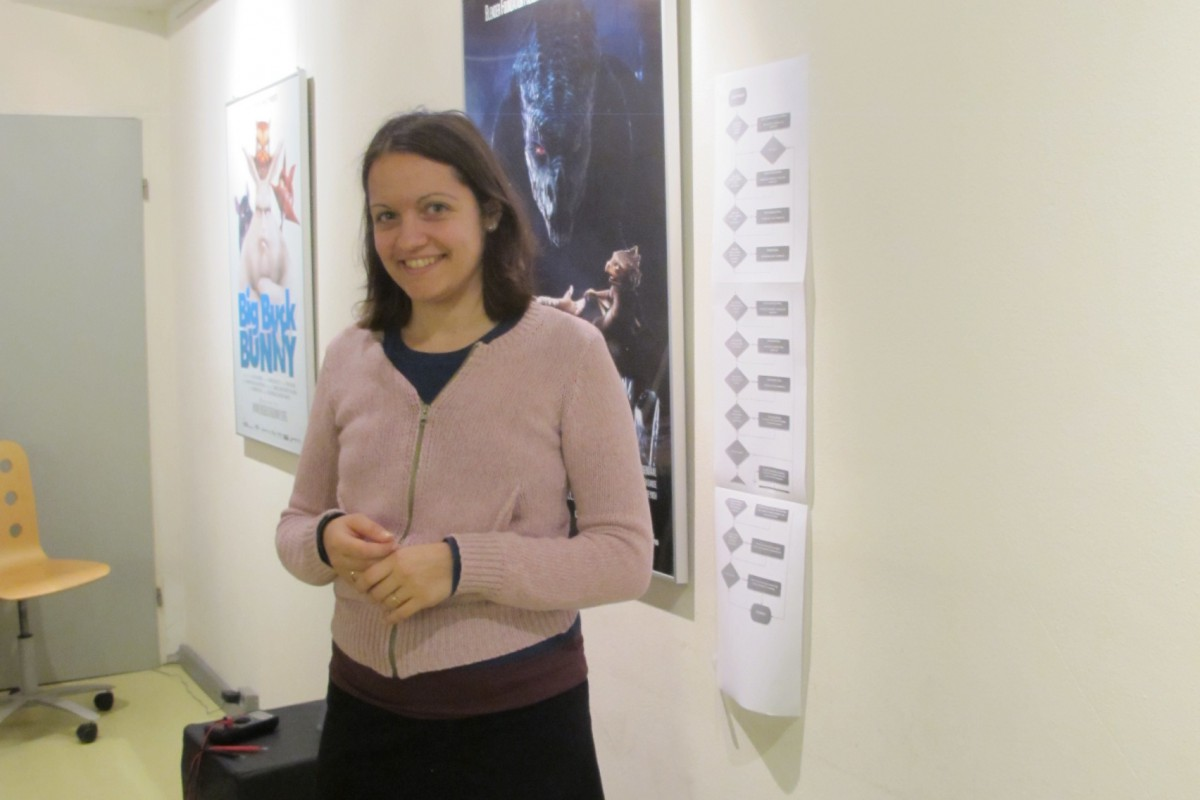 Julia Velkova at the Blender Institute