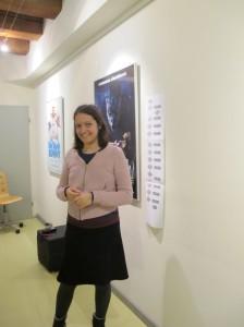 Julia Velkova at the Blender Institute
