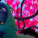Franck's caterpillar shock