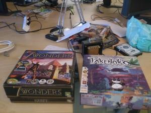 Board games....