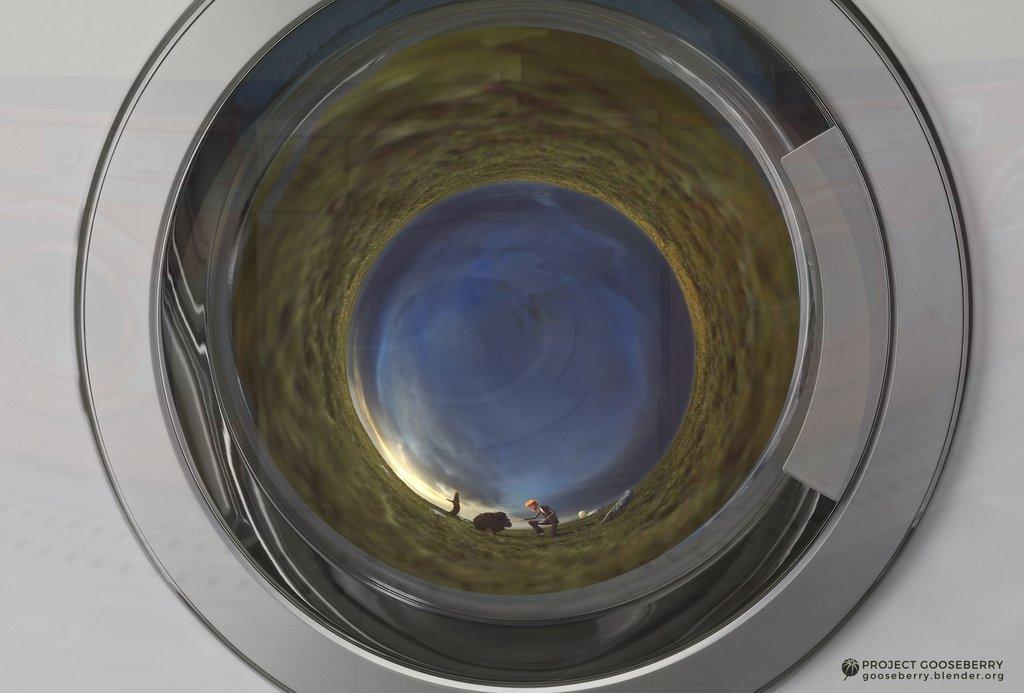 Benchmark inside washing machine