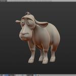 Baby sheep model