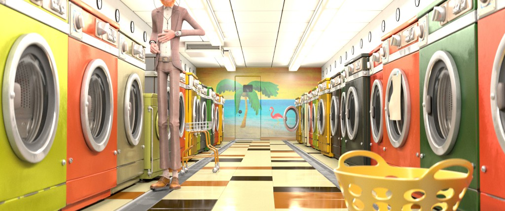 A new laundromat