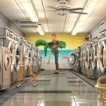 Metallic laundromat