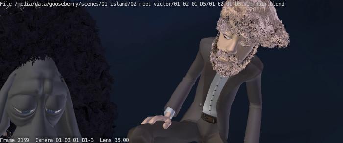 Victor's new sim